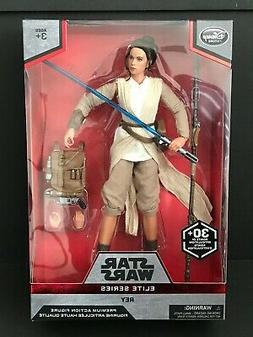 Disney Store STAR WARS Elite Series Premium Rey Action Figur