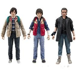 Stranger Things Series 3 Action Figure set of 3 Eleven, Will
