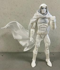 SU-C-MN: 1/12 Wired Hooded White Cape for Marvel Legends Moo