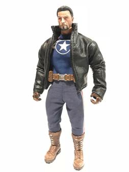 SU-JKM1-BK: Black Wired Short Jacket for Marvel Legends Mezc