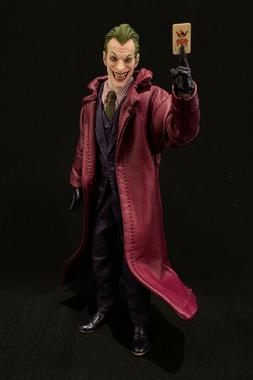 SU-LTC-JK: 1/12 Purple Wired Trench Coat for Mezco One:12 Jo