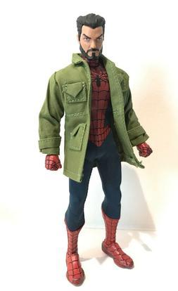 SU-LTC-PGN: 1/12 Custom Green Jacket for Mezco One:12 Spider