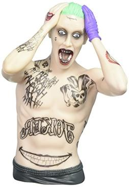 DC Suicide Squad Joker Bust Bank Action Figure