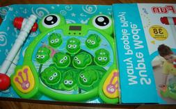 INvench Super Frog Game Toddler Toys - 2 Hammers Baby Intera