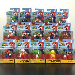 "Super Mario Action figure 2.5"" Nintendo Jakks Pacific  - NEW"