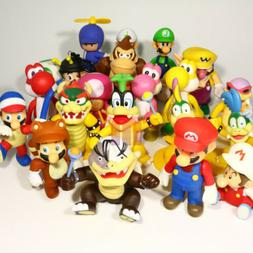 Super Mario Bros. Koopa Morton Yoshi Bowser Action Figure Ni