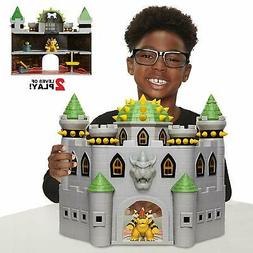 Nintendo Super Mario Deluxe Bowsers Castle Playset with Excl