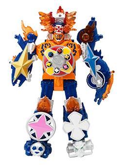 Power Rangers Super Ninja Steel Megazord Figure, Blaze Megaz