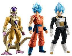 "Dragon Ball Z Dragon Ball Super Shodo Set of 3 3.75"" PVC Fig"