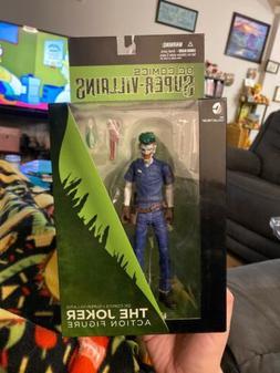 DC Collectibles Super-Villains: The Joker Action Figure Plum