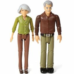 Sweet Li'l Family Set of Grandparents Action Figure Set, Gra