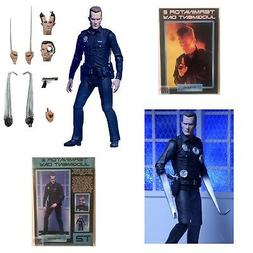 "T-1000 NECA ULTIMATE TERMINATOR 2 JUDGEMENT DAY 7"" Inch Acti"