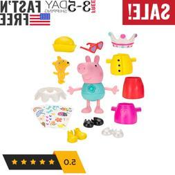 Peppa Pig Talking Dress Up Peppa Large Figure Kids Play Toy