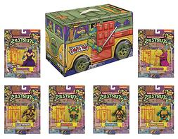 Teenage Mutant Ninja Turtle TMNT Retro Action Figure Set SDC