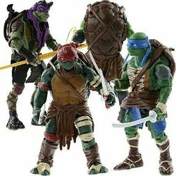 Teenage Mutant Ninja Turtles Movie Action Figures Set: Leo R