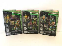 MEGA BLOKS Teenage Mutant Ninja Turtles Set Lot of 3 Donatel
