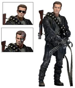 "Terminator 2 Judgment Day T-800 Ultimate Deluxe Arnold 7"" Ac"