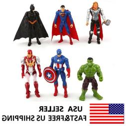 The Avengers Hulk Batman Ironman Hulk Action Figure Kids Toy