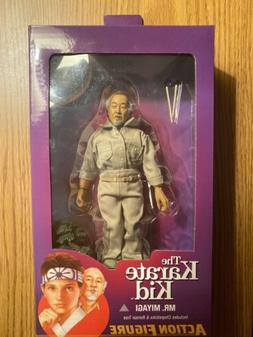 "The Karate Kid - 8"" Clothed Action Figures - Mr. Miyagi -NEC"