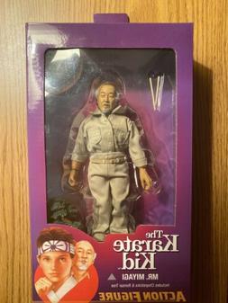 "The Karate Kid - 8"" Clothed Action Figures - Mr. Miyagi -NEC"