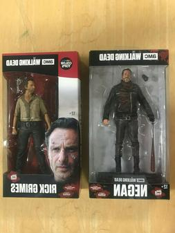 The Walking Dead Rick Grimes #1 & Negan #23 - Color Tops 7""
