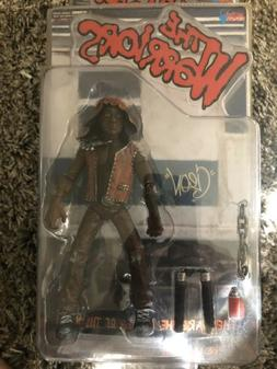 """The WARRIORS Leader """"CLEON"""" action figure MEZCO 2005 Sealed"""