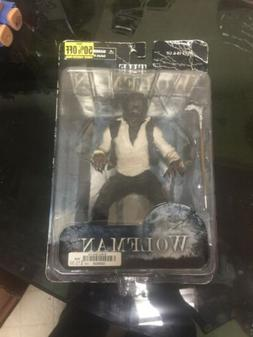 The WOLFMAN 7 Inch Scale Figure with Walking Cane MEZCO Toys