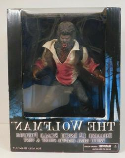 "THE WOLFMAN MOVIE 12"" DELUXE ACTION FIGURE MEZCO"