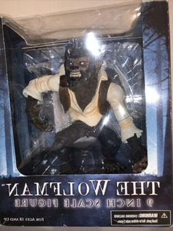 Mezco The Wolfman Movie 9 Inch Action Figure Rare