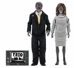 """NECA THEY LIVE Retro Clothed Alien 2 Pack 8"""" NEW & OFFICIAL"""