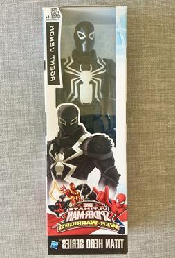"""Marvel Titan Hero Series: AGENT VENOM SPIDER-MAN 12"""" Inch Ac"""