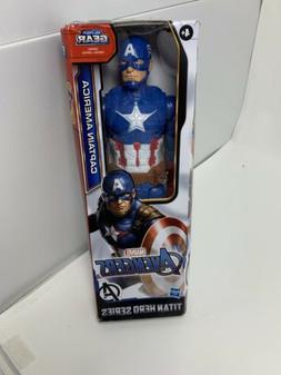 Marvel Titan Hero Series Captain America 12-inch Action Figu