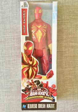 """Marvel Titan Hero Series: IRON SPIDER SPIDER-MAN 12"""" Inch Ac"""