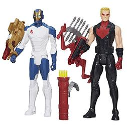 Avengers Titan Heroes Iron Man and Hawkeye Deluxe Electronic