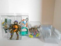 TMNT Action Figure Clamshell Blister Case Lot  Stackable Cas