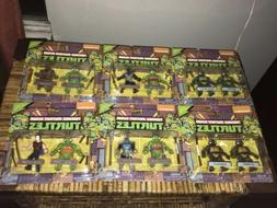TMNT - Classic Collection - 6 PC Mini Figures Set - New Free
