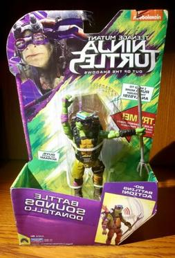 TMNT OUT OF THE SHADOWS BATTLE SOUNDS ACTION FIGURE DONATELL