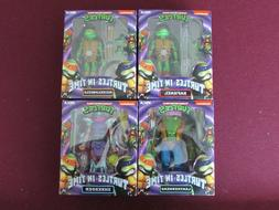Neca TMNT Turtles in Time 7 inch Action Figure Wave 2 Comple