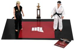 "NECA Tournament 2 Pack The Karate Kid 1984 8"" Action Figure"