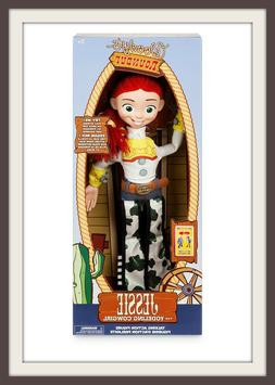 DISNEY STORE~TOY STORY~JESSIE THE COWGIRL~ TALKING ACTION FI