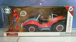 Disney Toybox Spider-Man with Spider-Mobile Playset - Marvel