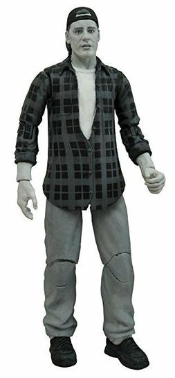 Diamond Select Toys Clerks Randal B&W Action Figure with Bas