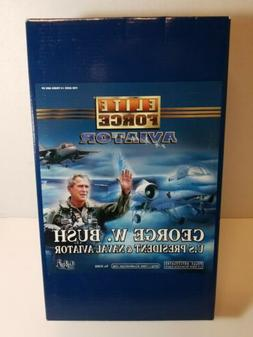 Blue Box Toys - Elite Force Aviator - George W. Bush 12 inch