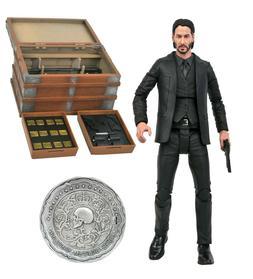 Diamond Select Toys John Wick Deluxe Action Figure Box Set*