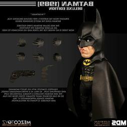 """Mezco Toyz Batman 1989 Michael Keaton DC Comics 6"""" MDS Desig"""