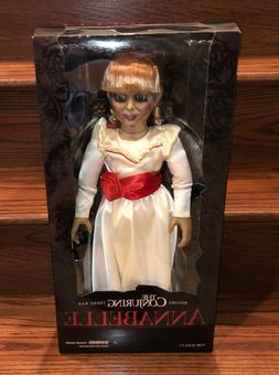 "Mezco Toyz Conjuring Annabelle Creation Doll 18"" Prop Replic"