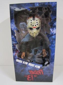 "Mezco Toyz Friday the 13th Jason Voorhees 15"" Talking Doll F"