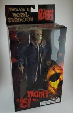 "Mezco Toyz JASON VOORHEES Friday the 13th  2009 12""  figur"