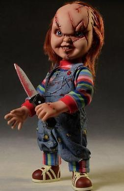 Mezco Toyz Talking Scarred Chucky Childs Play Horror Mega Sc