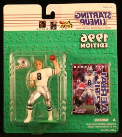 Starting Lineup TROY AIKMAN/DALLAS COWBOYS 1996 NFL Action F